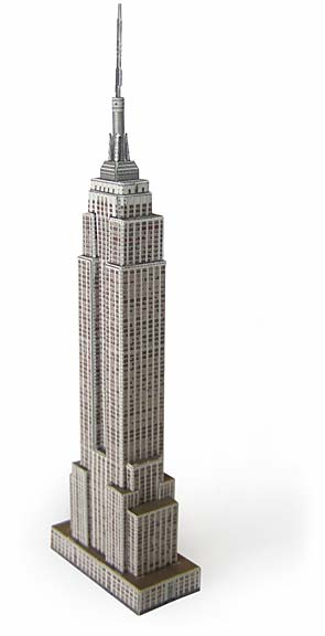 Empire State Bldg model