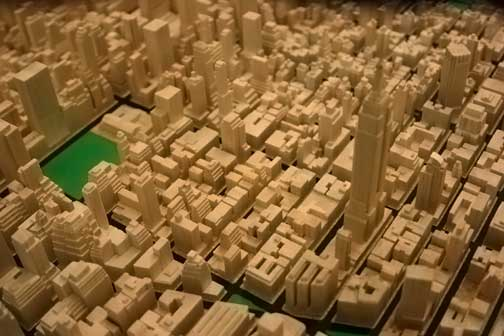 how to build a scale model city