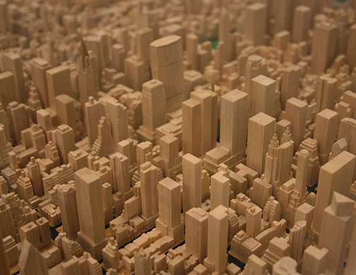 New york in miniature for New york models